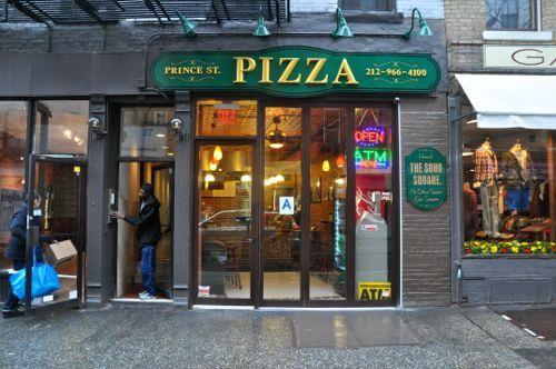 Prince Street Pizza 27 Prince Street, New York NY 10003 (Elizabeth/Mott) 212-966-4100; princestpizza.com