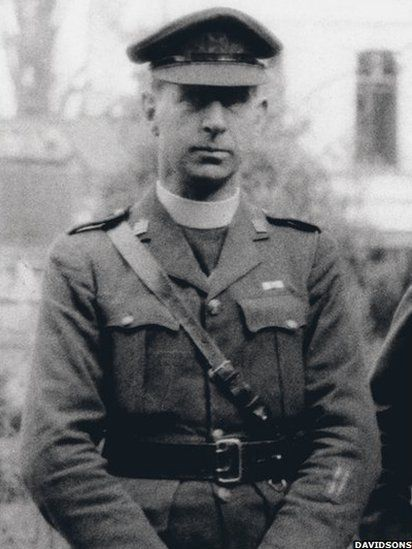 "Titanic Survivor: After he was ordained in 1915, Fr Browne was assigned as chaplain to the Irish Guards in France and Flanders for the duration of World War I. According to Fr O'Donnell: ""He was there until 1920 when he ended up as the most honoured Roman Catholic padre in the British Army having won the military cross and bar, the French Croix de Guerre and was personally handed the Belgian Croix de Guerre by the King of the Belgians – not bad for a non-combatant."""