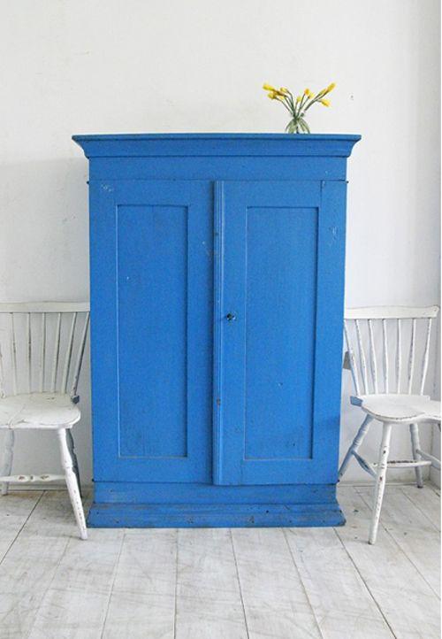 kast blauw Zweeds
