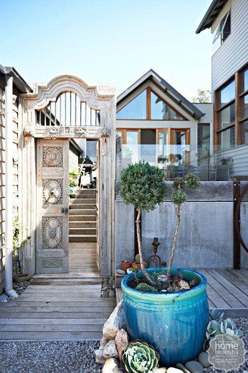 Home tour: a bayside bohemian abode