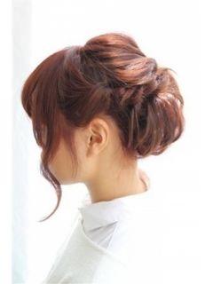 夏は浴衣にぴったり♡ミディアムヘアさんのアレンジ術。ゆるアップの参考♡