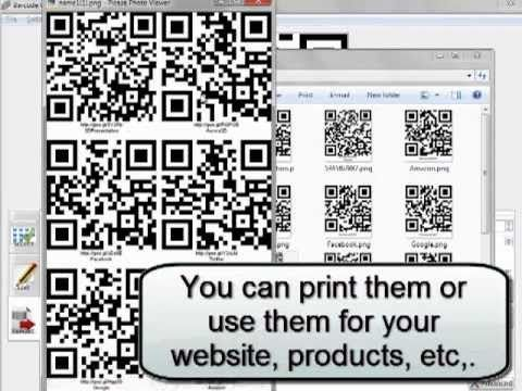 How To Batch Generate QR Code By Barcode Generator | Aurora3D Software