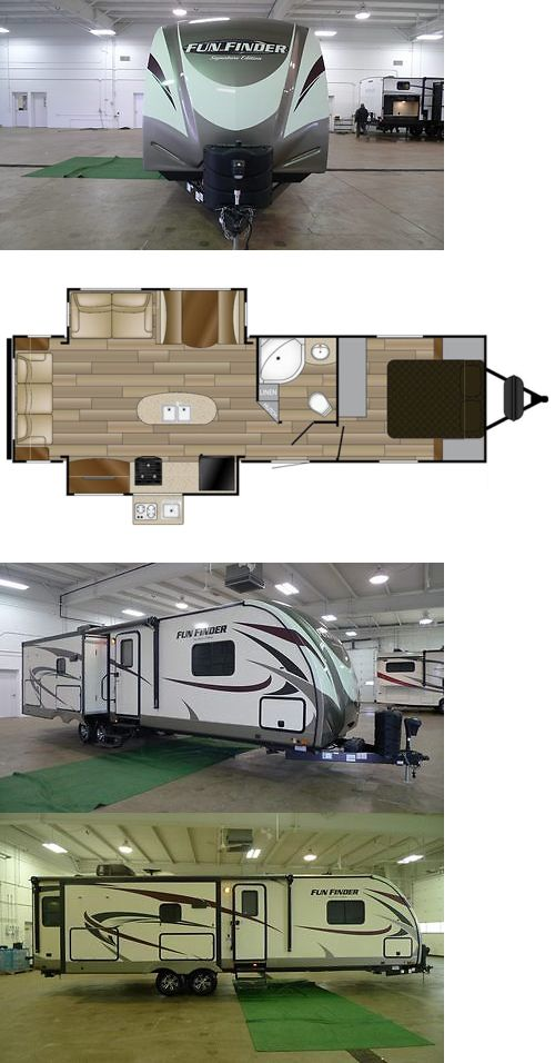 rvs: 2017 Fun Finder 319Rlds Rear Living Travel Trailer Best Deal Rv Camper Sale -> BUY IT NOW ONLY: $27990 on eBay!