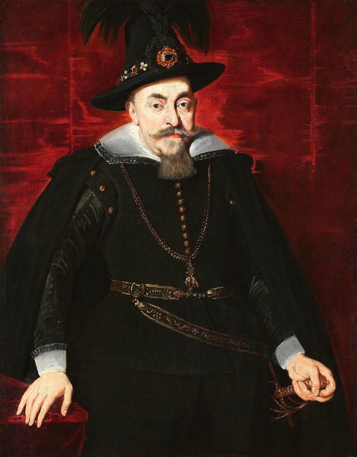 Portrait of Sigismund III Vasa by Peter Paul Rubens, 1620s, Stiftung Heinz Kisters, Kreuzlingen