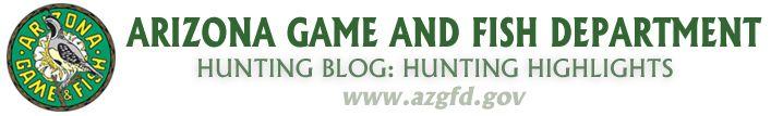 Upcoming hunting season opening dates | Arizona Hunting Highlights