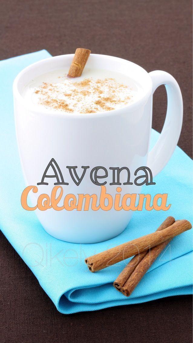 Avena Colombiana, la disfruta desde el mas chico hasta el mas grande. #avenaqikely #avena #colada #avenacolombiana #canela