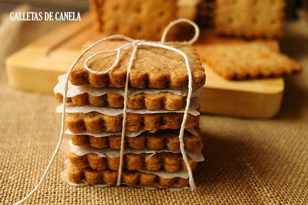 El jardín de mis recetas: GALLETAS DE CANELA