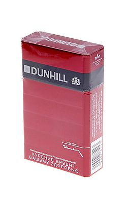 Duty on cigarettes Dunhill into Maryland
