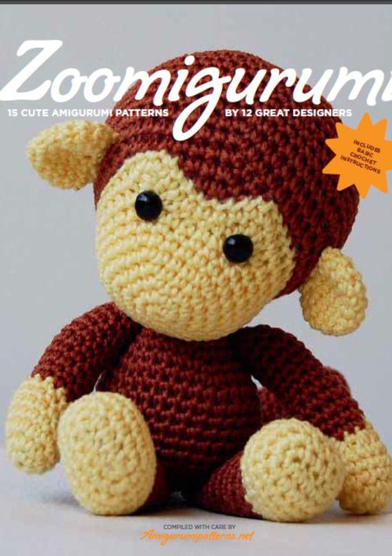 Livre Amigurumi En Pdf Singe En Crochet Amigurumi Pattern
