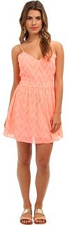 DV by Dolce Vita V Eyelete Lace Dress - Open Back