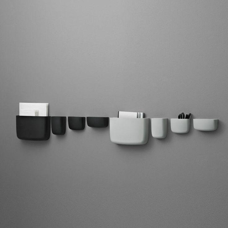 top3 by design - Normann Copenhagen - pocket organiser 4 light grey