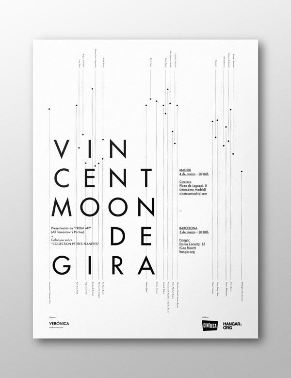 amazing use of Swiss style in poster design