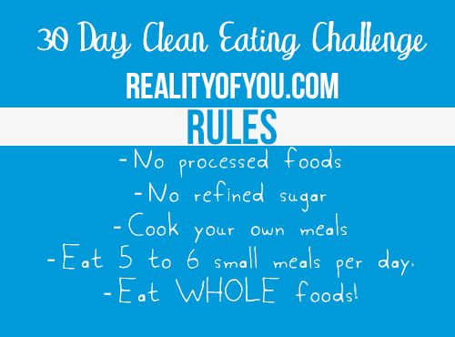 The Reality of Health and Weight Loss • The 30 Day Clean Eating Challenge