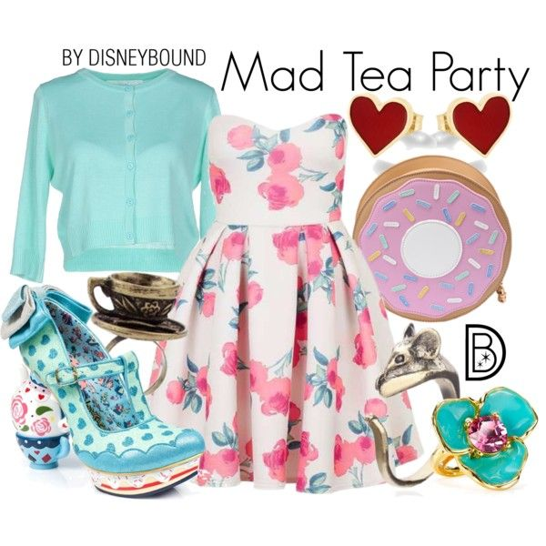 A fashion look from September 2016 by leslieakay featuring Topshop, Anonyme Designers, Alison Lou, Kenneth Jay Lane, Irregular Choice, disney, disneybound and d...