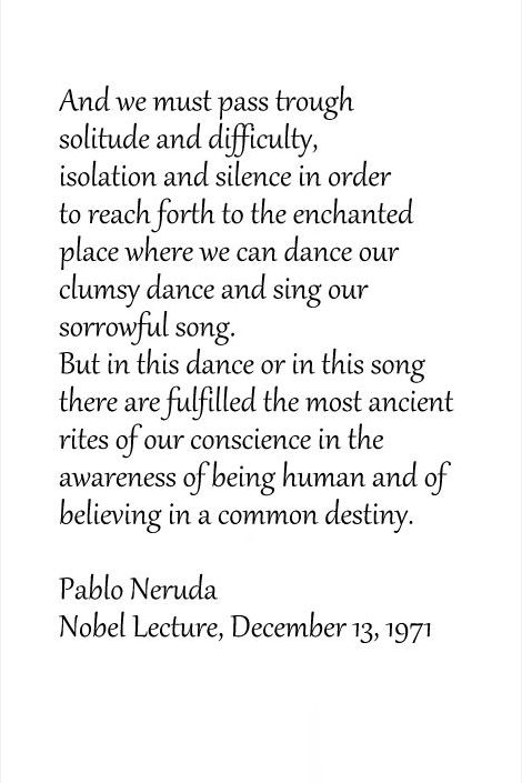 essay childhood poetry pablo neruda Neruda relays an anecdote from his childhood that profoundly influenced not only his poetry but also his understanding of art and of life itself: one time, investigating in the backyard of our house in temuco the tiny objects and minuscule beings of my world, i came upon a hole in one of the boards of the fence.