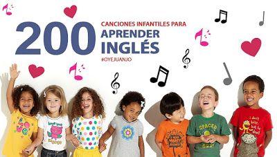 AYUDA PARA MAESTROS: 200 canciones infantiles para que los niños aprendan inglés