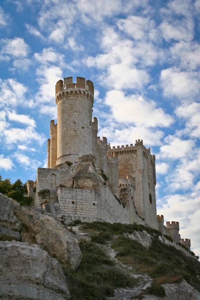 Castillo de peñafiel. Valladolid. España