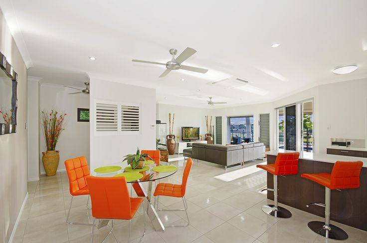 Living Area. www.martinlockehomes.com.au  New home. Townsville. Builder. Shutters