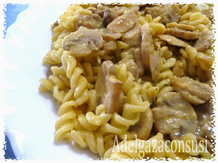 Recetas Light - Adelgazaconsusi: Espirales con champiñones al curry ( 295kcal)