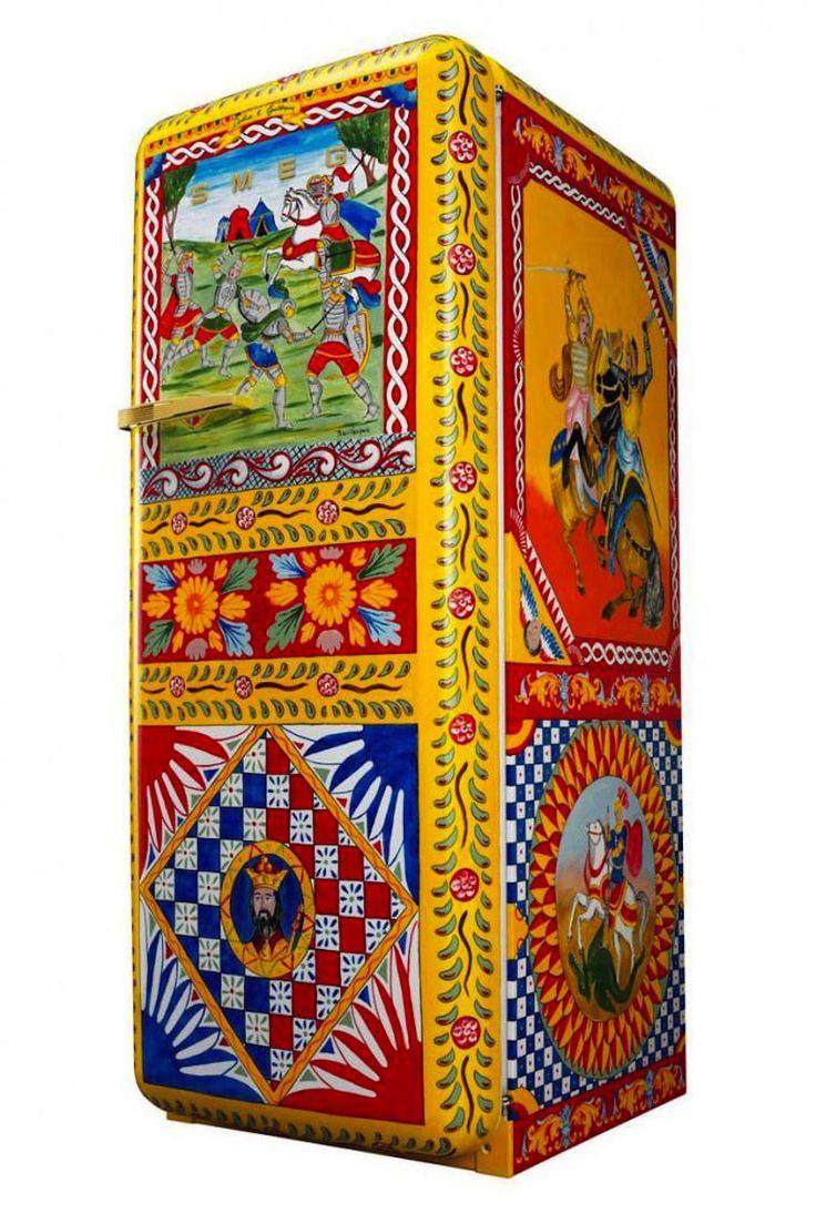 Frigorific - Voici le frigo le plus cher du monde, griffé Dolce&Gabbana