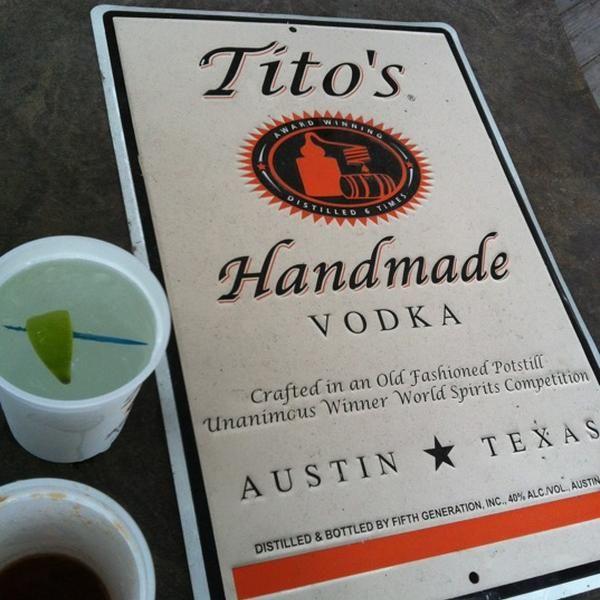 Austin's own, vodka distillery, Tito's Handmade Vodka -  by Narissa J.