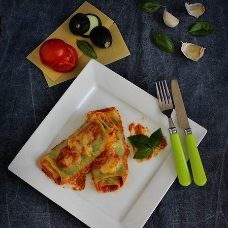 Cukkinis lasagne-tekercs (cannelloni) Recept képpel - Mindmegette.hu - Receptek