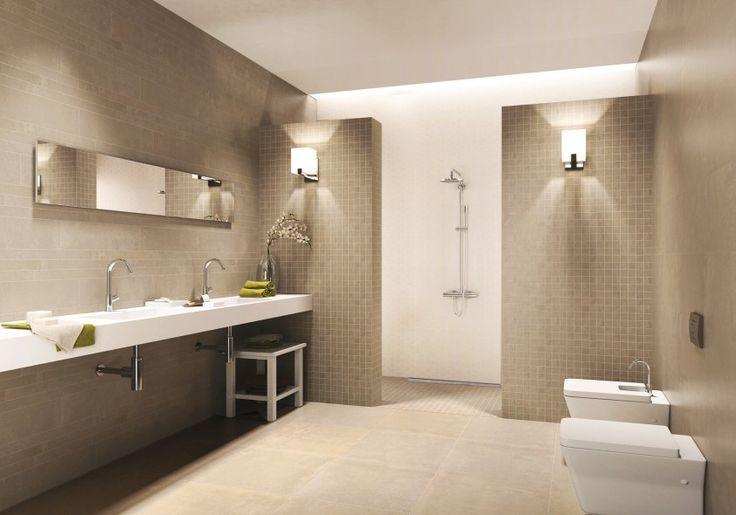 Kleine Badkamer En Suite ~   op net natuursteen keien beach pebbles klassieke badkamer pin 2