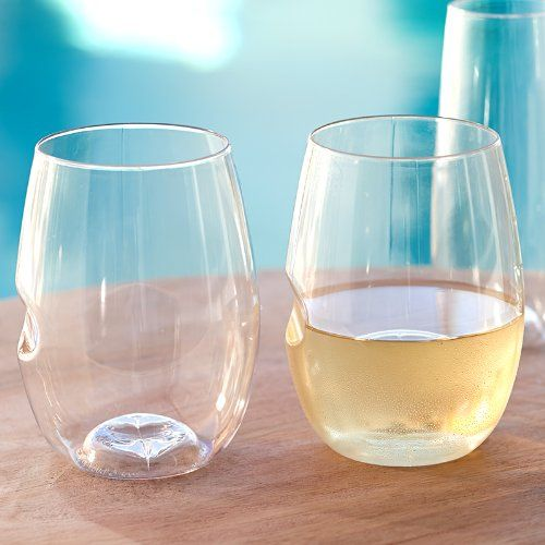 govino™ Wine Glasses are perfect for picnics or by the pool. govino Shatterproof Stemless Glass 4-Pk (SKU 5739). These amazing unbreakable glasses allow you to enjoy your favorite wine anywhere, anytime. Made from PETG, a proprietary, food-safe pharmaceutical grade polymer, govino glasses reflect a wine's color and projects its aromatics much like crystal. To ensure the optimum wine tasting experience, replace your govino wine glasses after an extended period of use. Reuse it, abuse it, and…