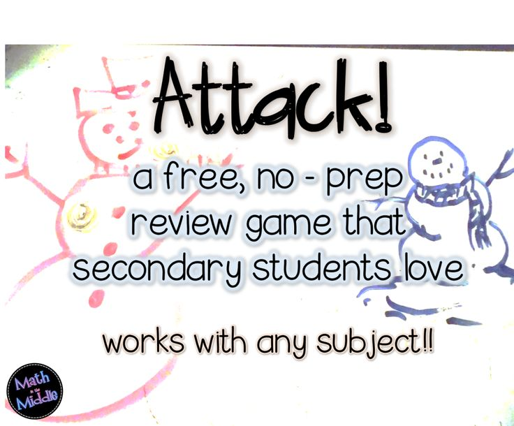 A Review Game That Students Love – ATTACK!