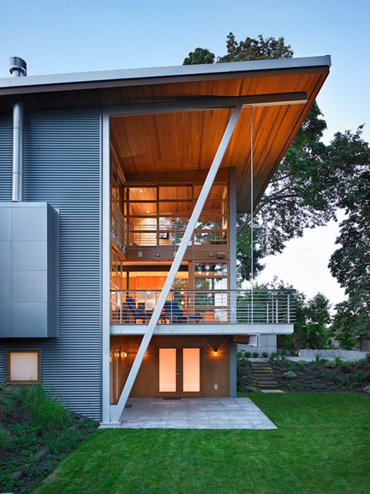 Leschi Residence in Seattle #dreamhouseoftheday