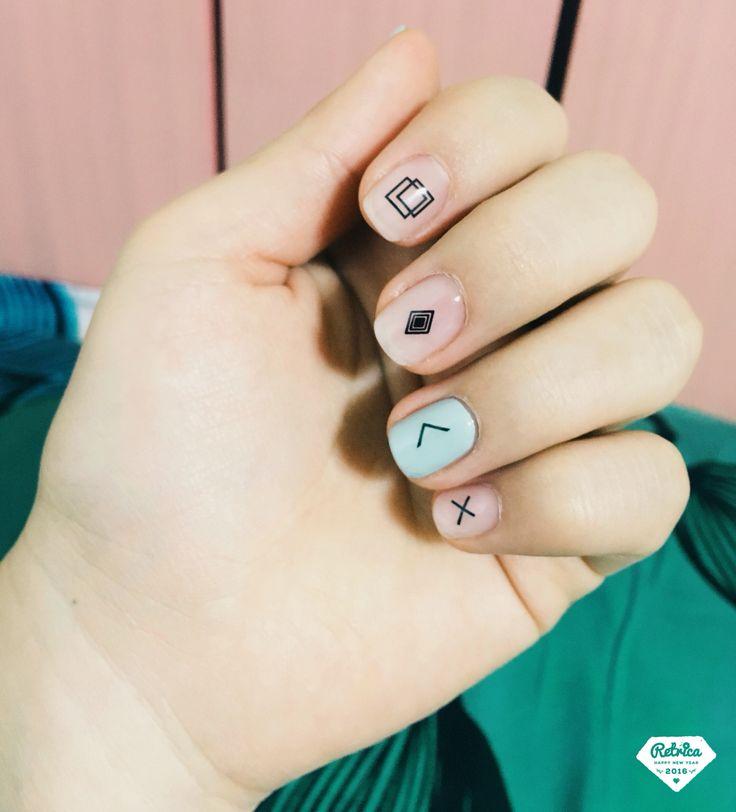 Geometric Nails                                                                                                                                                                                 More