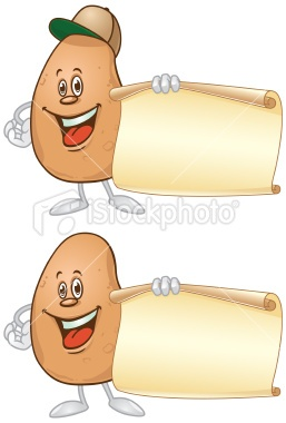 http://www.istockphoto.com/stock-illustration-23748494-potato-holding-paper-sign.php