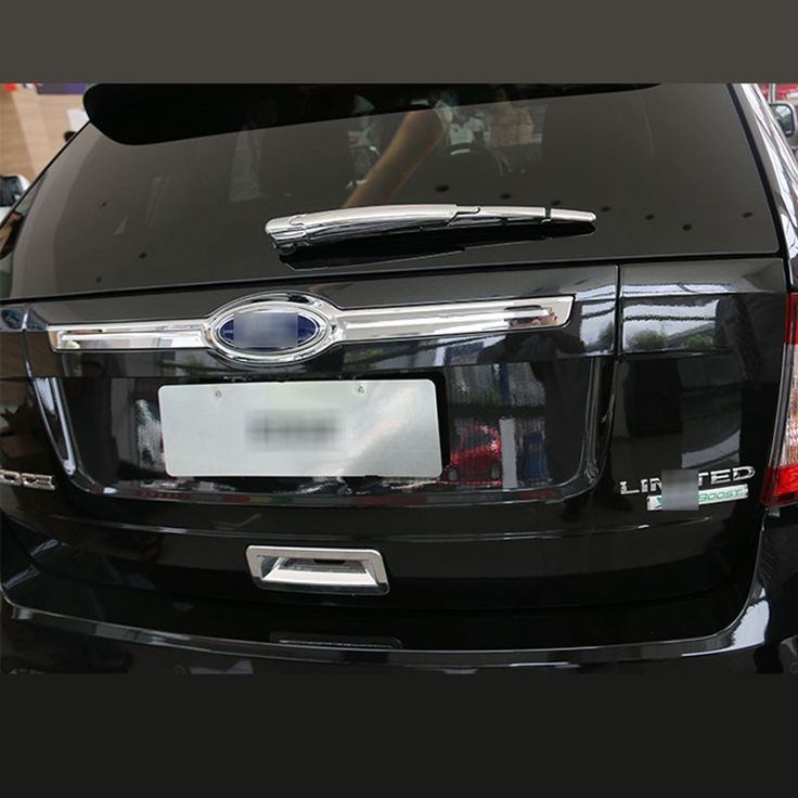 High Quality Rear Wiper Blade Cover Car Chrome Accessories For Ford Edge