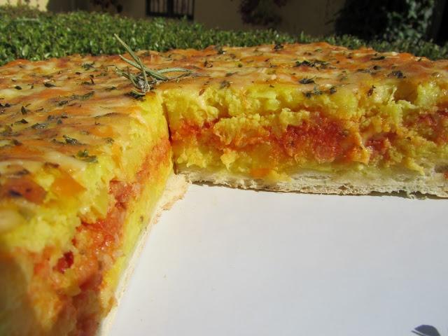 La Juani de Ana Sevilla: Pizza de tortilla