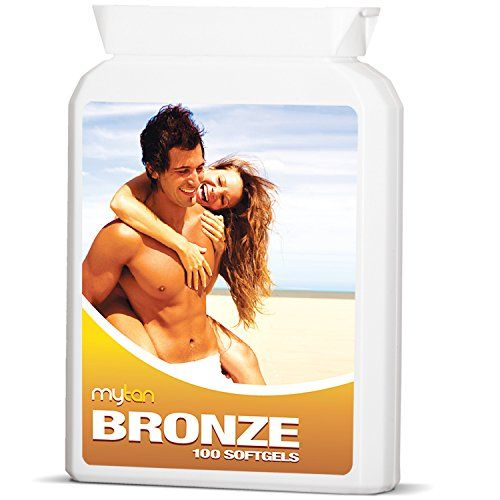 MyTan Bronze Tanning Pills 100 Softgels No Canthaxanthin Sunless Tanning Pill ** Visit the image link more details.