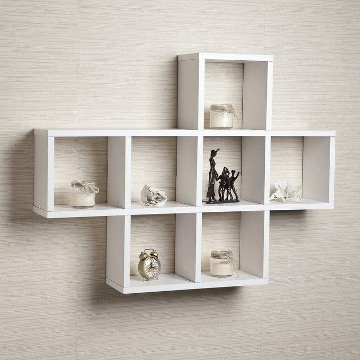 Germain Wall Shelf Wall Cubbies Floating Wall Shelves White Wall Shelves