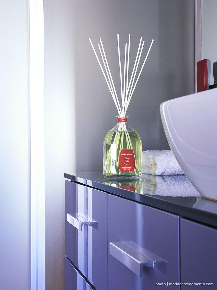 Diffusori per Ambienti di design - in bagno: Limone Lime di Officina delle Essenze.