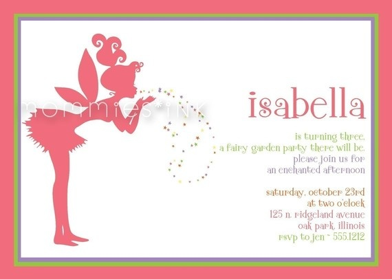 Fairy Invite