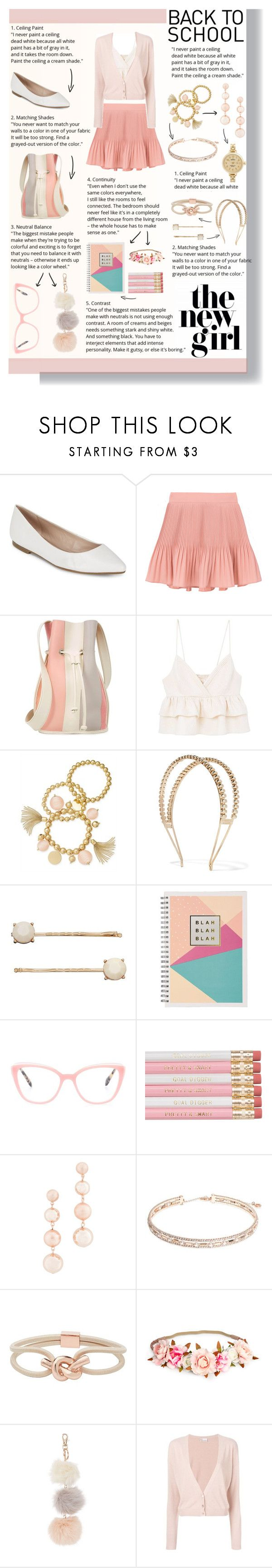 """""""Outfit #156"""" by emydeishly ❤ liked on Polyvore featuring BCBGeneration, 10 Crosby Derek Lam, MANGO, INC International Concepts, Rosantica, LC Lauren Conrad, Miu Miu, Rebecca Minkoff, Anne Klein and Witchery"""