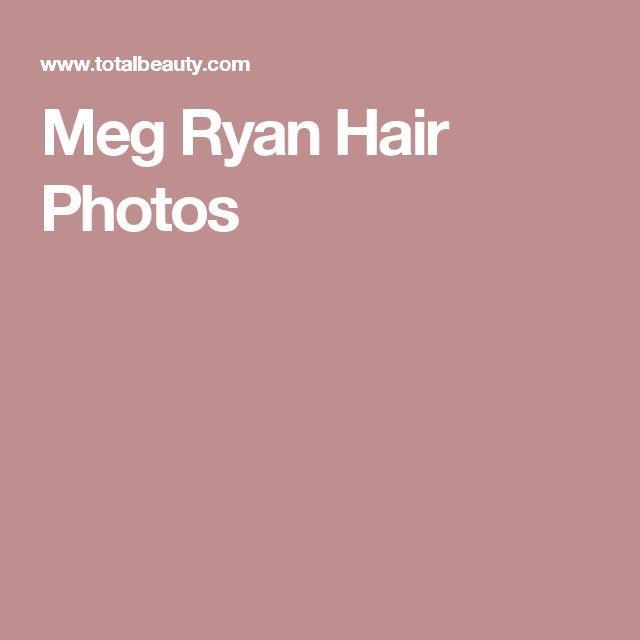 Meg Ryan Hair Photos