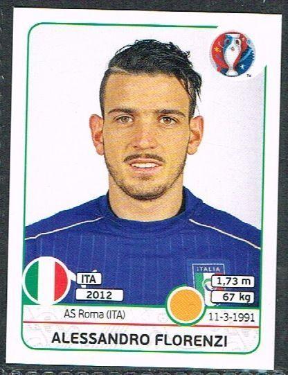 UEFA EURO 2016 Alessandro Florenza  Italy - 503 #Panini #stickers #Italy…
