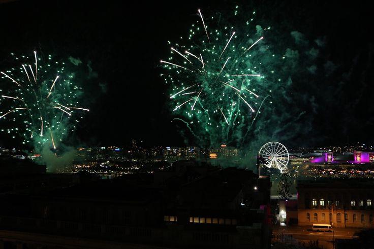 Fireworks Brisbane Riverfire 2015