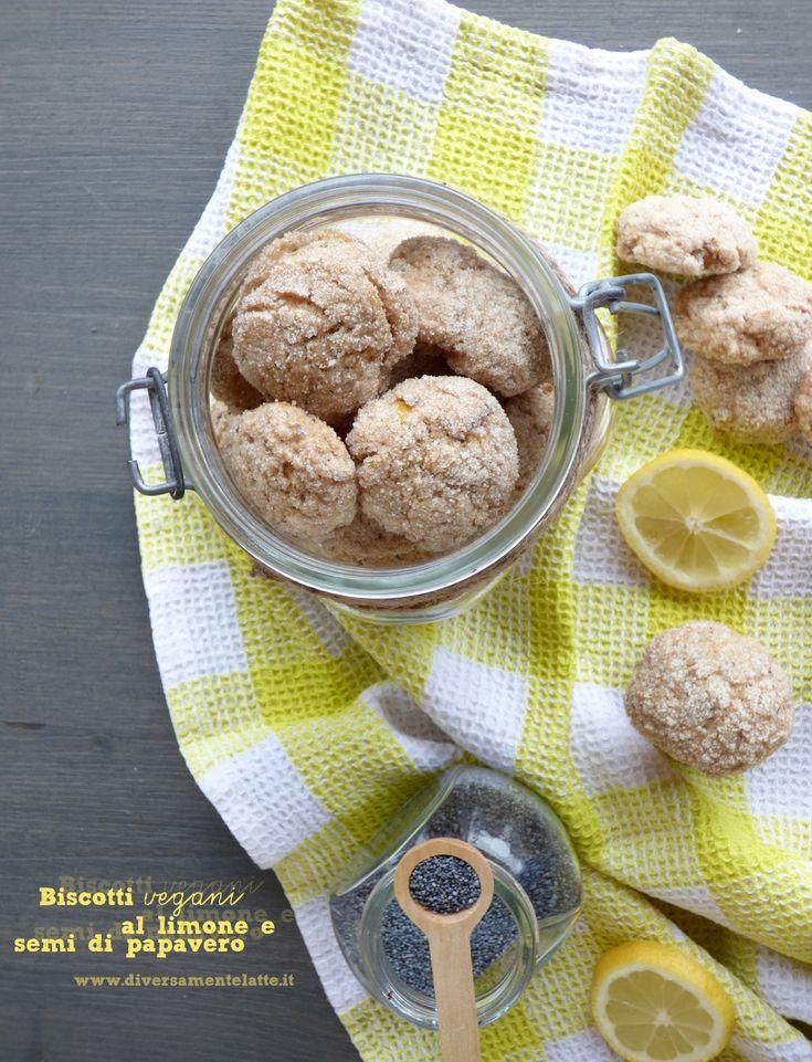 biscotti al limone e semi di papavero