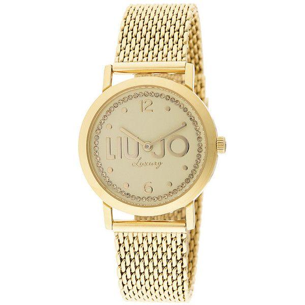 Liu Jo Luxury Slim Steel Gold Orologio Donna Acciaio Maglia Solo Tempo TLJ 839