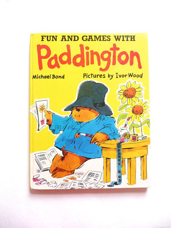 Fun and Games with Paddington by Michael Bond and Illustrated