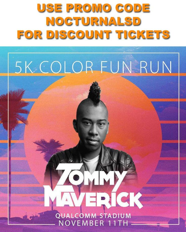 5k Color Fun Run Tickets Discount Promo Code San Diego Nov 11th 2017    Qualcomm Stadium will be hosting the 5k color fun run in san diego November 11th 2017 . We are providing 5k color fun run tickets discount promo code for this san diego event. Marathons, Triathlons, iron mans, endurance races in san diego for a cause are always a top thing to do in san diego on a weekend in November. The entire race is surrounded by a EDM music concert. Don't miss out on all the fun with our fun zone…