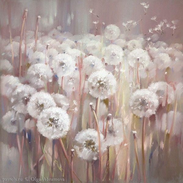 Olga Abramova, pastel art Поляна желаний 50х50, 2015