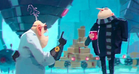 ART of CLEMENT GRISELAIN: Despicable me 2