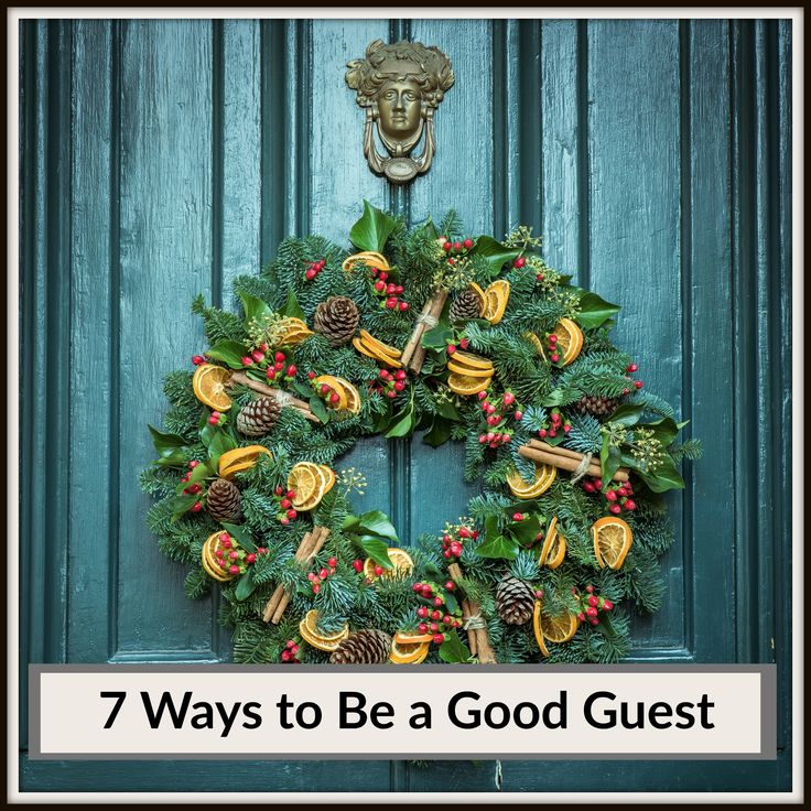 The holiday seasons are quickly approaching and parties, dinners and get-togethers will soon fill our calendars for the next several weeks. Whether  you have a standing invitation, or get a formal invite, good guests really make or break a party, here's six ways to make sure you're a welcome addition: - See more at: http://www.designspaceandstyle.com/mind-spirit/seven-ways-to-be-a-good-guest#sthash.mlQdSrnx.dpuf