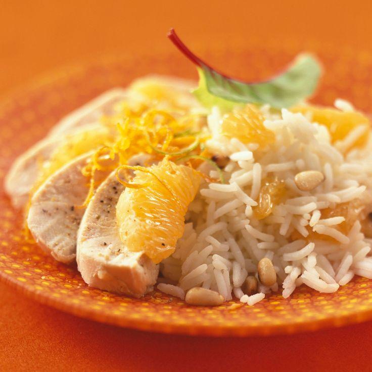 Découvrez la recette des aiguillettes de poulet à la mandarine
